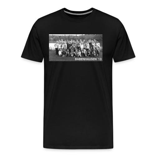 Babenhausen Gruppenfoto Zeltlager - Männer Premium T-Shirt