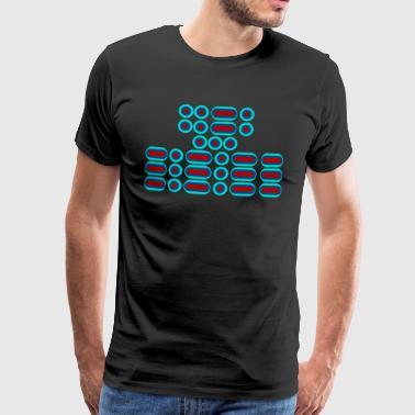 FFS !!! (czerwony niebieski) - Koszulka męska Premium