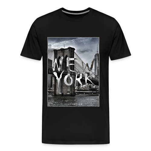 New York | 8SAP City Design Collection - Männer Premium T-Shirt