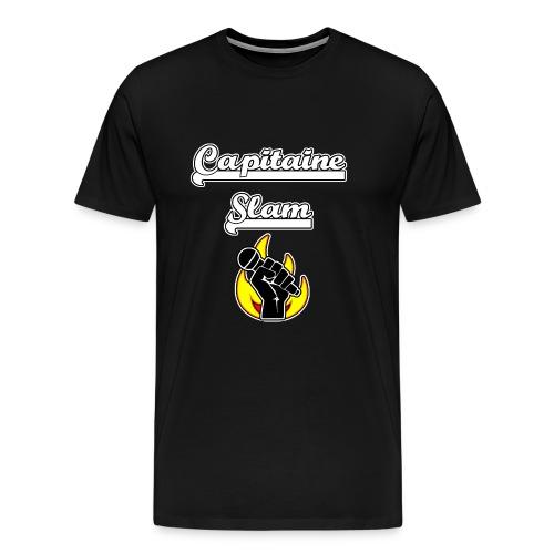 CAPITAINE SLAM - JEUX DE MOTS - FRANCOIS VILLE - T-shirt Premium Homme