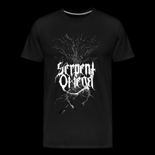 Serpent Omega- Ormträd - Premium-T-shirt herr
