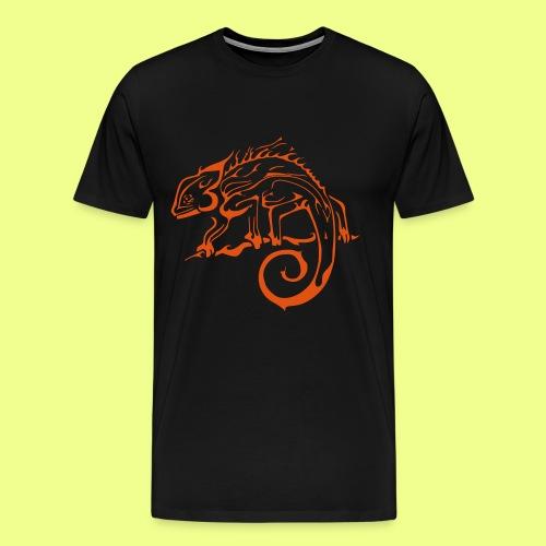 iguana - Camiseta premium hombre