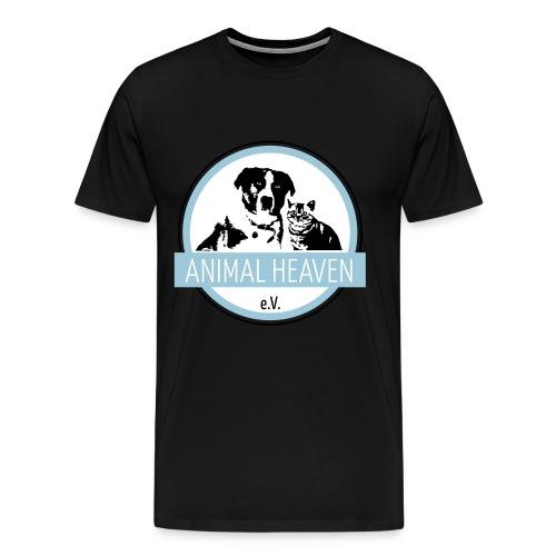 Animal Heaven e.V. Logo - Männer Premium T-Shirt