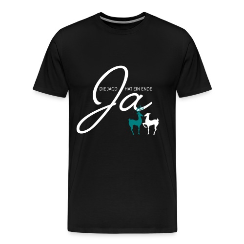 Der Jäger heiratet! - Männer Premium T-Shirt