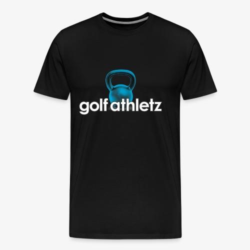 GOLF ATHLETZ - Kettlebell Trainings Sport Motiv - Männer Premium T-Shirt