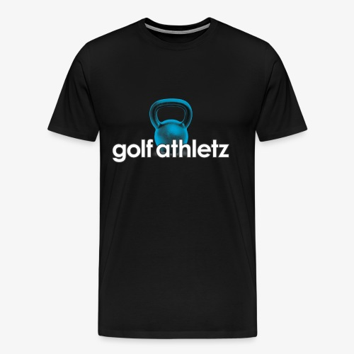 GOLF ATHLETZ - Kettlebell Trainings Sport Motiv - Männer Premium T-Shirt