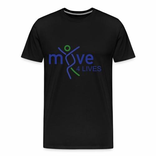 Move4Lives - Männer Premium T-Shirt