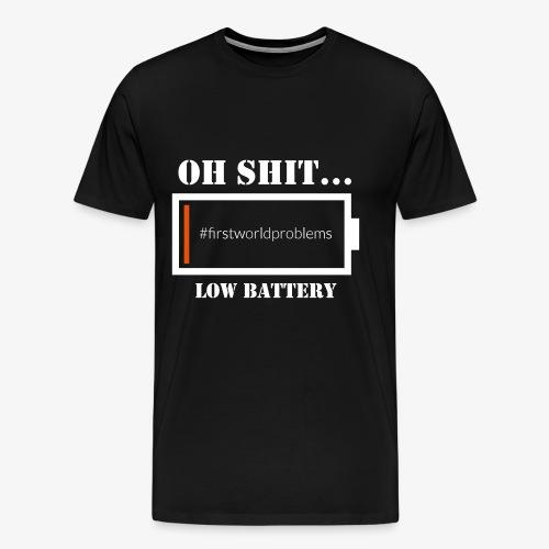 Low Battery - Männer Premium T-Shirt