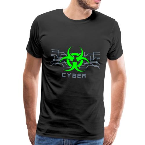 Cyber Punk - Cyber Goth Design (vektor) - Männer Premium T-Shirt