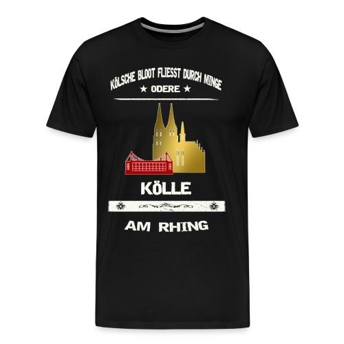 Koelsche Bloot - Köln am Rhein - Männer Premium T-Shirt
