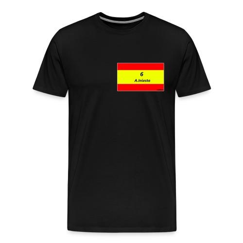 A.INIESTA - Camiseta premium hombre