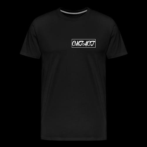 CNTACT White - Männer Premium T-Shirt