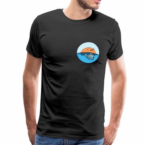 Fischerboot Angelrute Angeln Fischen Fischer - Männer Premium T-Shirt