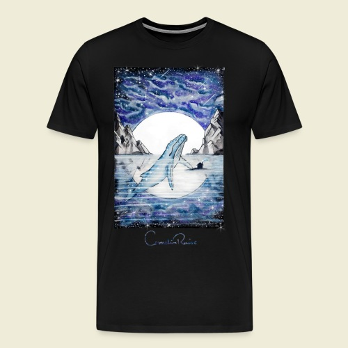 humpback whale - Men's Premium T-Shirt
