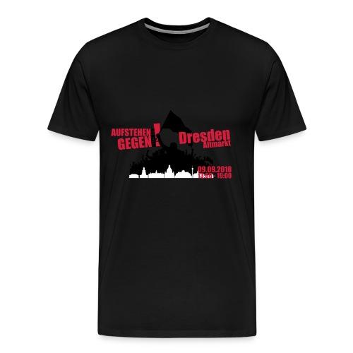 Dresden Demo rot - Männer Premium T-Shirt