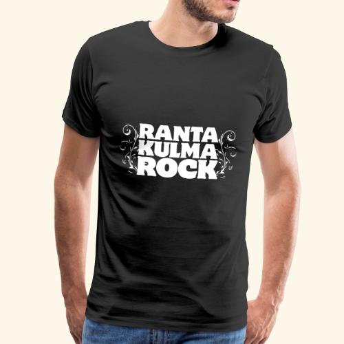 Rantakulmarock -logo - Miesten premium t-paita