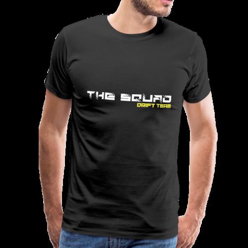 The Squad Logo Hvid - Herre premium T-shirt