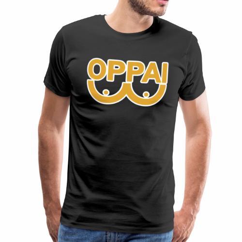 oppai - Premium T-skjorte for menn