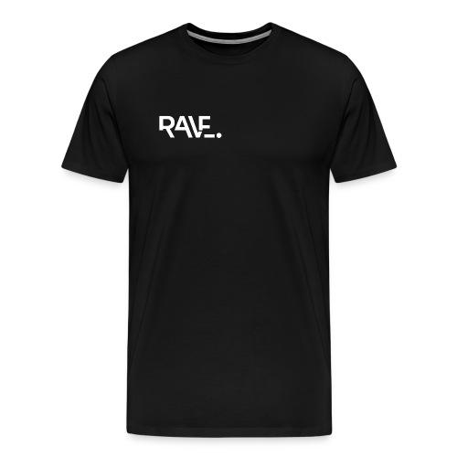 RAVE ClothingWhiteLogo - Men's Premium T-Shirt