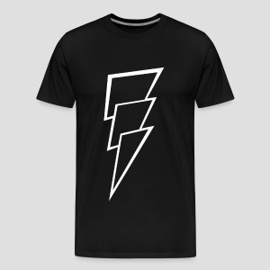 Thunder white - Mannen Premium T-shirt