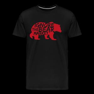 IGNORE THE BEARMARKET - Men's Premium T-Shirt
