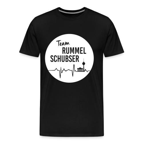Team RS in rund und weiß - Männer Premium T-Shirt