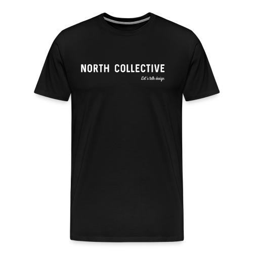 North Collective, Let's Talk Design - Mannen Premium T-shirt