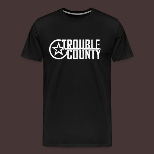 Trouble County Logo - Men's Premium T-Shirt