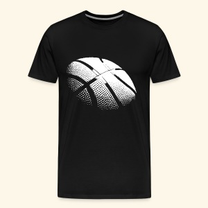 Basketball white - Männer Premium T-Shirt