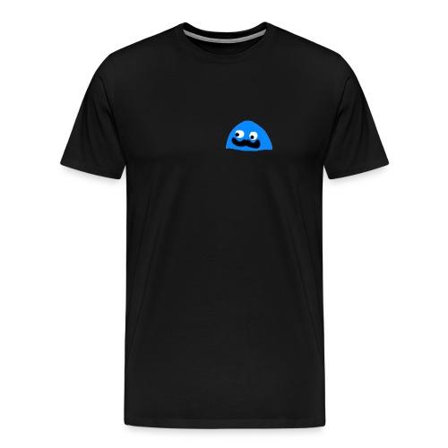BlobbyBlue02 - Mannen Premium T-shirt