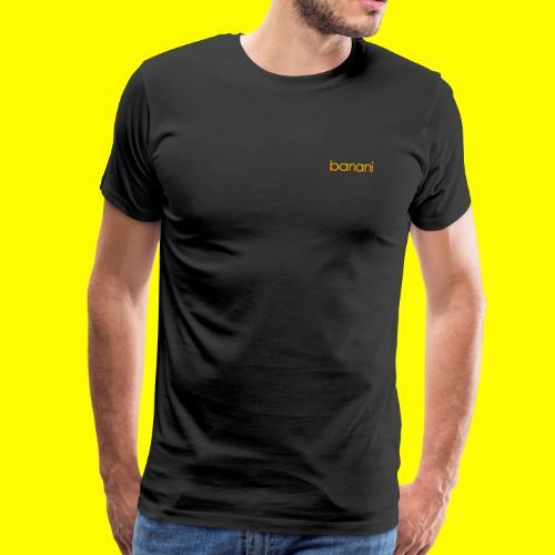 Banani-Schriftzug - Männer Premium T-Shirt