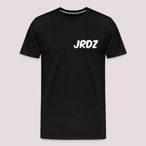 Jeardz White Consonant Logo - Men's Premium T-Shirt