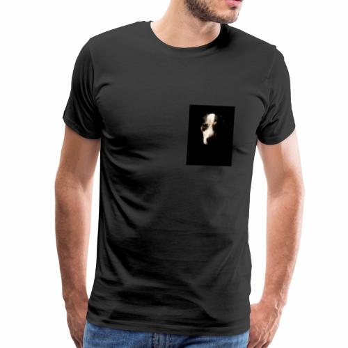 La mirada de la verdad (perro) - Camiseta premium hombre