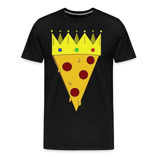 Pizzakönig - Männer Premium T-Shirt