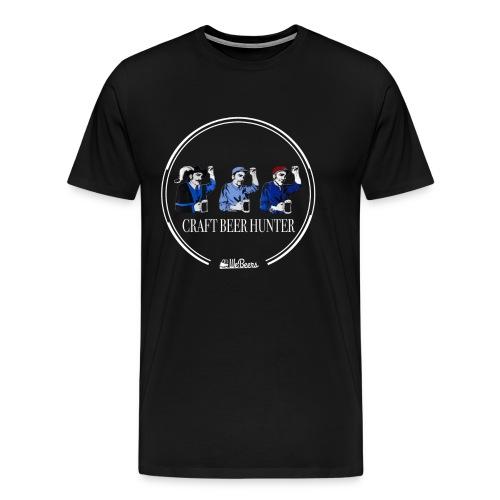 Cacciatori di birre artigianali - Maglietta Premium da uomo