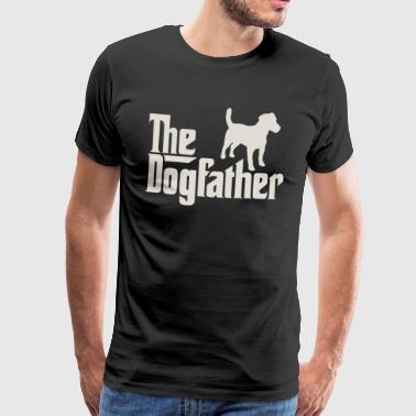 Dogfather - Parson Jack Russell Terrier - Koszulka męska Premium