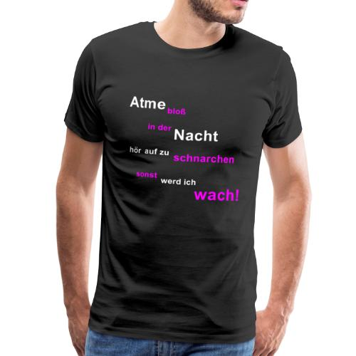 atemlos - Männer Premium T-Shirt