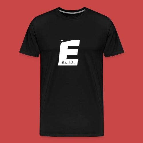 Elia Logo - Weiß - Männer Premium T-Shirt
