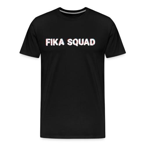 Fika Squad - Premium-T-shirt herr