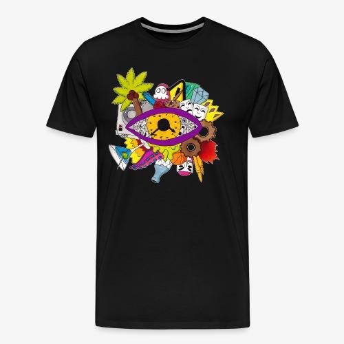 Uhrwerk - Männer Premium T-Shirt