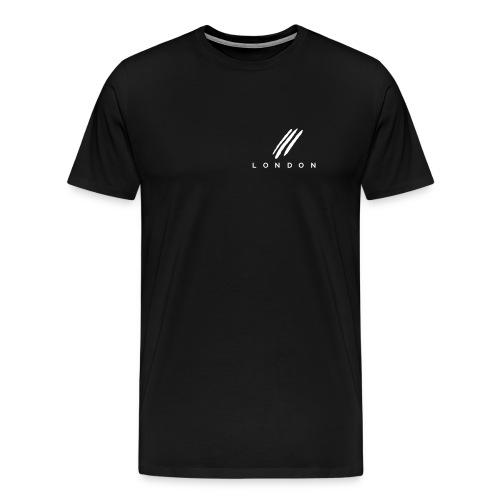 ThreeLine Black Casual - Men's Premium T-Shirt