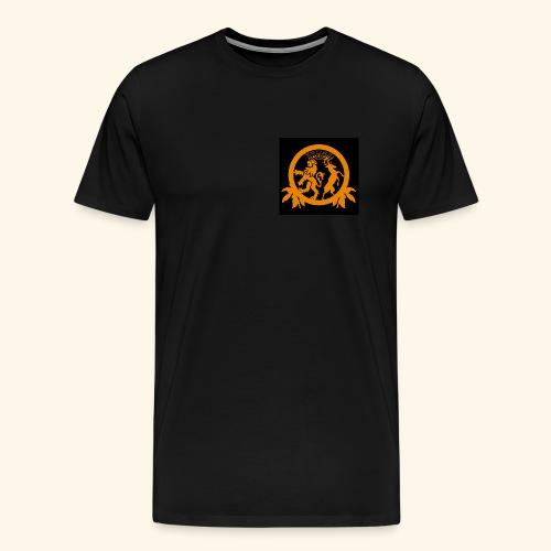 Logo black - Männer Premium T-Shirt