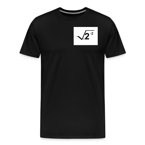 2-2squarerooted - Men's Premium T-Shirt