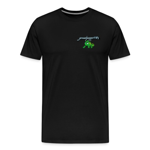 grasshopper189 Logo - Männer Premium T-Shirt