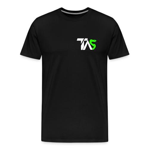 TAS loggan - Premium-T-shirt herr