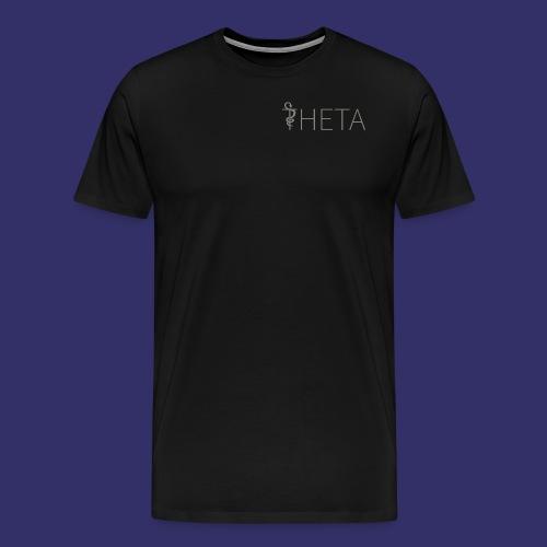 Grey and black - Men's Premium T-Shirt