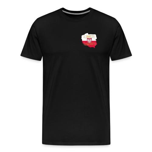 German Digits Polen - Männer Premium T-Shirt