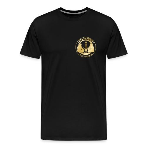 Relaxshop Logo gold weiss! - Männer Premium T-Shirt