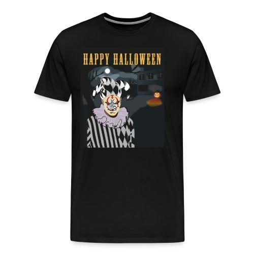 Happy Halloween Harlekin T-shirt tee shirt - Männer Premium T-Shirt