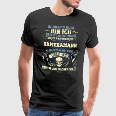 Edles Berufe-Shirt für den Kameramann - Männer Premium T-Shirt